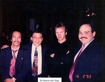 Sting and members of Sound Advice