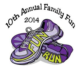 2014 Family fun run logo