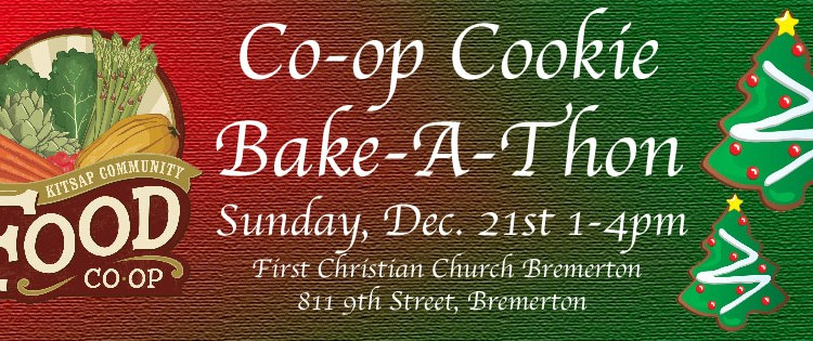 Join us for the Co-op Cookie Bake-A-Thon
