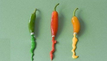 Brilliant food artworks