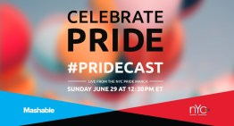#PrideCast – Watch Mashable's Livestream of NYC Pride March
