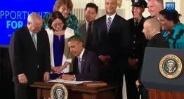 President Obama Signs Executive Orders to Protect LGBT Employees From Federal Workplace Discrimination