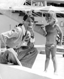 Charlotte Rampling et son fils