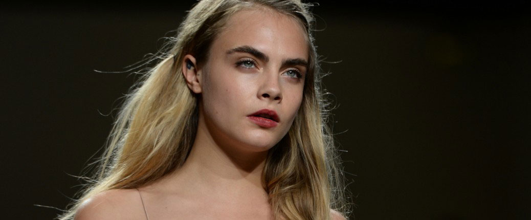 #SS15 News | Cara Delevingne Leads Models at the Topshop Spring-Summer Show
