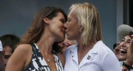 Martina Navratilova Proposes to Her Girlfriend on the Big Screen at U.S. Open