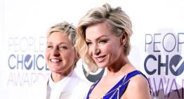 Portia de Rossi and Ellen DeGeneres Rock The People's Choice Awards