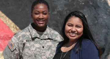 Touching Video, Lesbian Army Wives