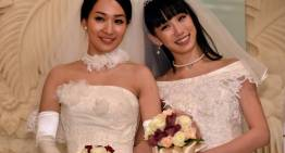 Brides Celebrate Japans First Celebrity Same-Sex Marriage