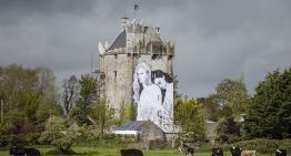 The Mural of a Lesbian Couple Placed on the Side of a Castle in Co Galway, Ireland
