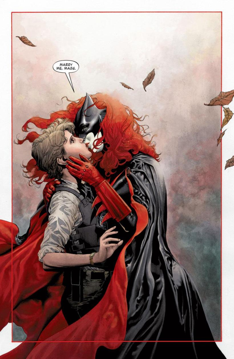 Batwoman and Maggie Sawyer