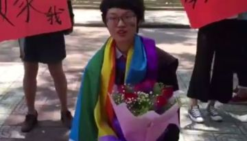 Incredibly Poignant Graduation Day Wedding Proposal Spoiled By Homophobic Backlash