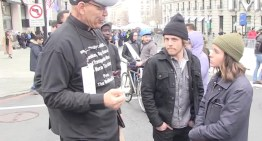 Ellen Page Confronts Homophobic Preacher At D.C. Protest