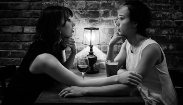 Check Out 'And The Moon' – A New Black and White Lesbian Musical