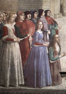 Resurrection of the Boy by Domenico Ghirlandaio