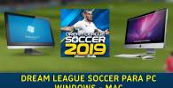 descargar e instalar dream league soccer 2019 2018 2017 para pc windows mac