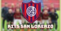 kit san lorenzo dream league soccer kits 2018 2019