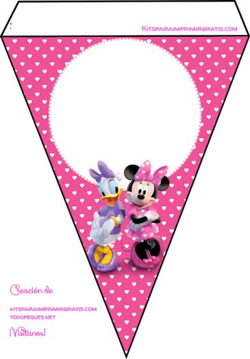 Minnie y Daisy Boo Toons banderines
