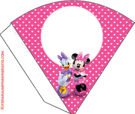 minnie y daisy candy bar para imprimir