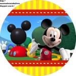 Etiquetas Stickers de Mickey gratis