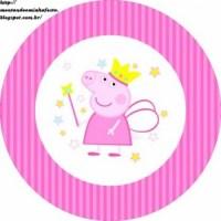Etiquetas stickers de Peppa Pig para imprimir gratis