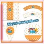 Imprimibles de Bubble Guppies para descargar gratis