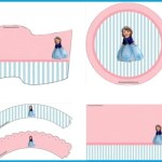 Decoración de cumpleaños de Princesa Sofía: Kit para imprimir gratis