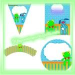 Kit imprimible del Sapo Pepe para descargar gratis