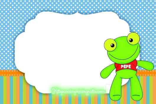 Sapo Pepe Etiqueta
