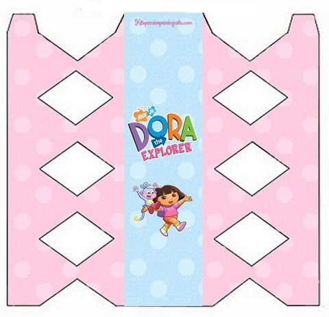 Cajitas para armar de Dora la Exploradora