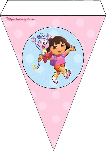 Banderín de Dora la Exploradora