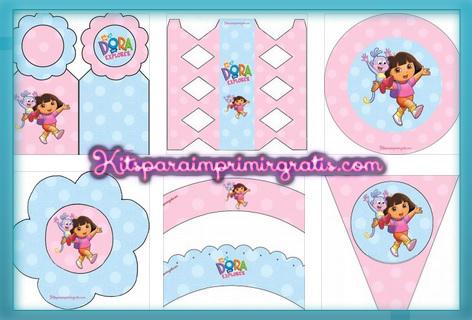 Kits de Dora la Exploradora gratis
