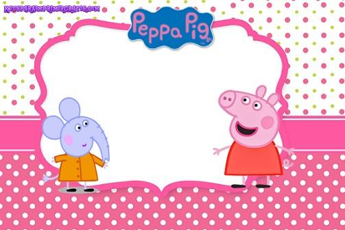 Etiquetas de Peppa Pig - Stickers de peppa Pig - Marcos para fotos peppa cerdita 1