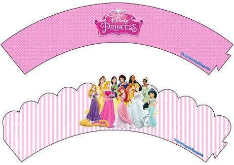 Wrappers adornos de Princesas Disney