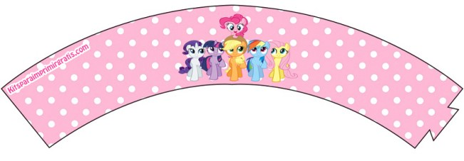Wrappers de My Little Pony - Imprimibles de cumpleaños My Little Pony