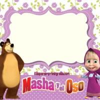 Kit de Masha y El Oso para imprimir gratis