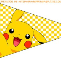 Kit Imprimible de Pikachu para descargar gratis