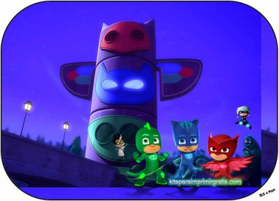 stickers pj masks - pegatinas pj masks - cumpleaños de pj masks moldes descargar gratis - kits imprimibles pj masks descarga gratis