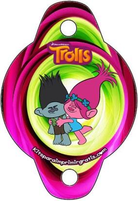 Adornos de Trolls - adornos para sorbete