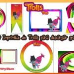 Decoración de Trolls Kit para Imprimir Gratis