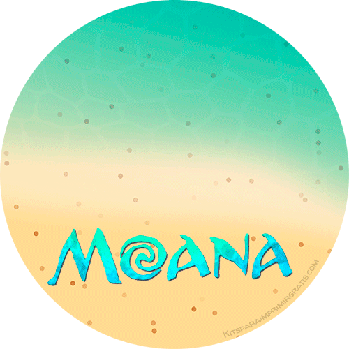 Moana Free Stickers printables
