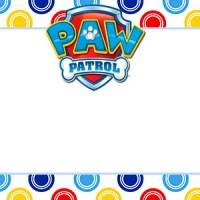 Kit Imprimible de Patrulla Canina o Paw Patrol para descargar gratis
