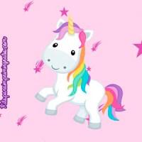 Kit Imprimible de Unicornios para descargar gratis
