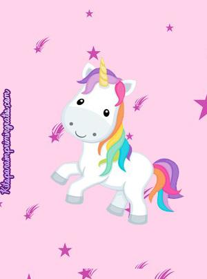 kits imprimibles unicornios descarga gratis