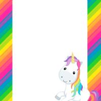 Kit de Unicornios para Imprimir Gratis