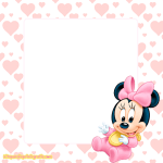 Kit de Minnie Baby para Imprimir Gratis