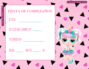 invitaciones-cumpleanos-lol-surprise-3d-unicornio