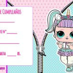 LOL Surprise Unicornio Kit Imprimible Gratis