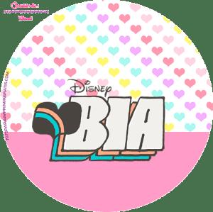 Stickers Bia Disney - kits Imprimibles Bia Disney
