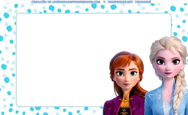 Frozen 2 Etiquetas