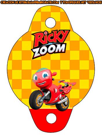 Ricky Zoom Birthday party printables